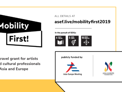 Asia-Europe Foundation – iniciativa Mobility First!