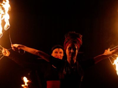 Workshop Fireshow a performance