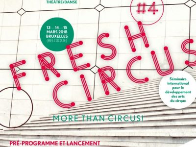 Zveme na FRESH CIRCUS#4 do Bruselu