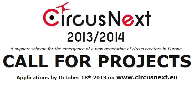 Circus Next: CALL FOR PROJECTS