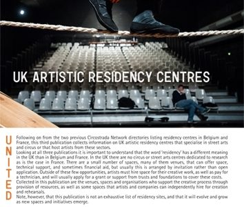 Artistic residency centres in the UK